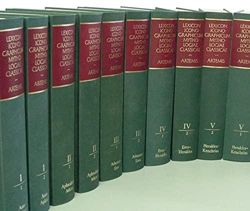 9783760887593: Lexicon Iconographicum Mythologiae Classicae (LIMC) - Gesamt