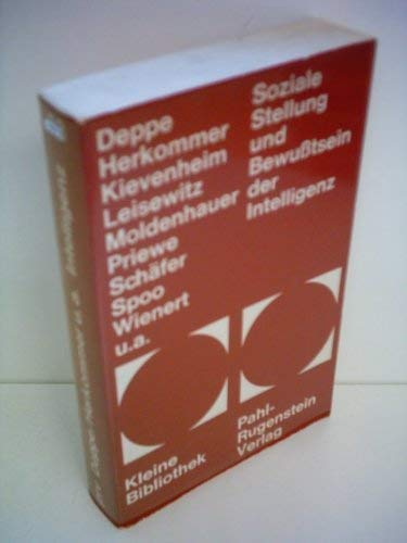 Soziale Stellung und Bewußtsein der Intelligenz: Kievenheim Christoph, Leisewitz