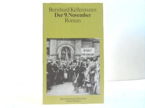 9783761005576: Der 9. November. Roman