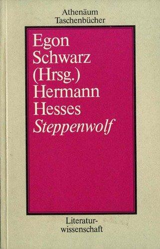 9783761021507: Hermann Hesses Steppenwolf (Athenäum Taschenbücher)