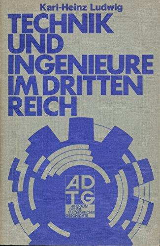 9783761072196: Technik und Ingenieure im Dritten Reich