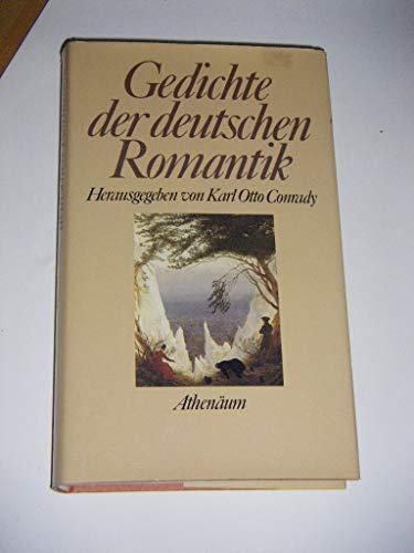 Gedichte Der Deutschen Romantik Hrsg Von