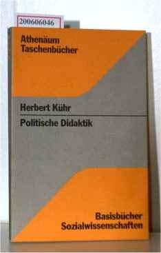 9783761082201: Politische Didaktik