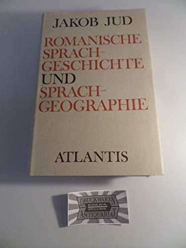 9783761104019: Romanische Sprachgeschichte und Sprachgeographie