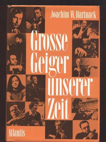 9783761105276: Grosse Geiger unserer Zeit