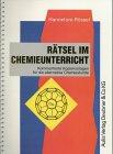 9783761420058: Rätsel im Chemieunterricht (Livre en allemand)