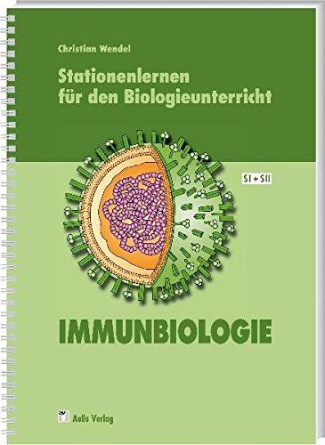 9783761428405: Stationenlernen für den Biologieunterricht: Kopiervorlagen Biologie. Immunbiologie SI+SII