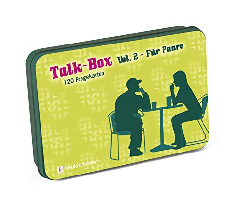 Talk-Box 2 - Für Paare: 120 Fragekarten in Metalldose
