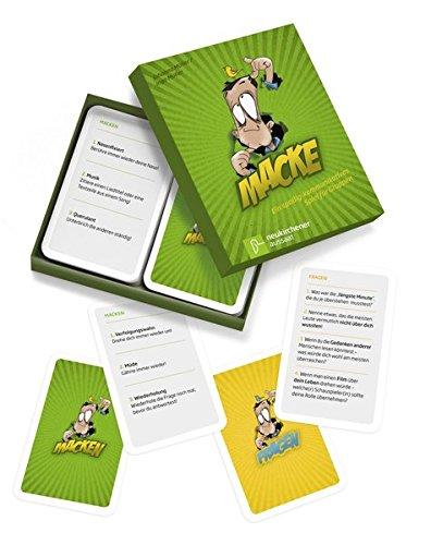 9783761560143: Macke: Ein spaßig-kommunikatives Spiel für Gruppen