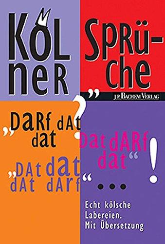 9783761617359: Kölner Sprüche.
