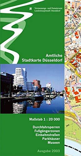 9783761617717: Amtliche Stadtkarte Düsseldorf