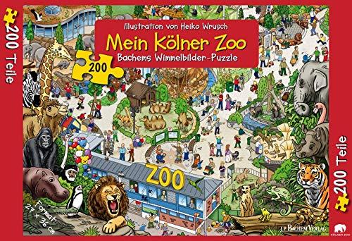 9783761624791: Mein Kölner Zoo Puzzle (200 Teile)