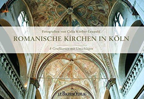 Romanische Kirchen in Köln. Grußkarten-Set mit 4