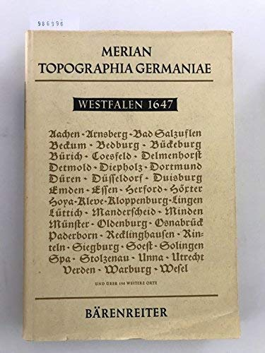 Topographia Germaniae : Westfalen, 1647, Topographia Westphaliae.: Merian, Matthäus,