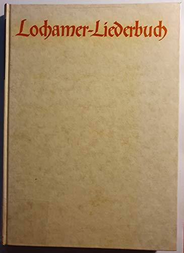 9783761804063: Lochamer Liederbuch. und das Fundamentum organisandi von Conrad Paumann: Faksimileausgabe