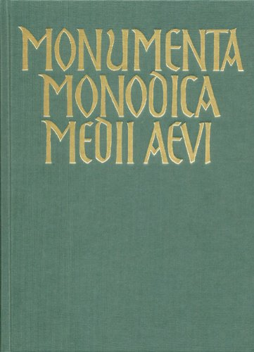 9783761805756: Monumenta Monodica Medii Aevi / Trouvères-Melodien II.: BD 12