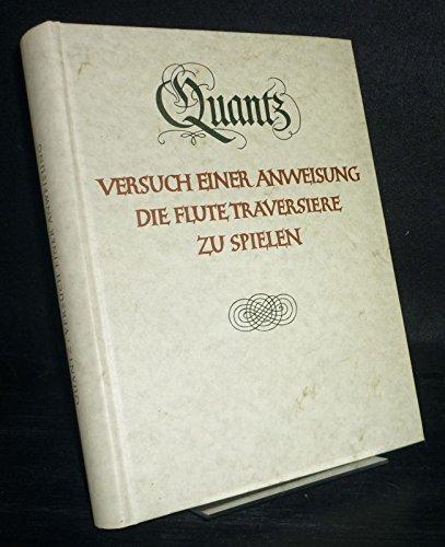 9783761807118: Versuch einer Anweisung die Flöte traversière zu Spielen (Documenta musicologica)