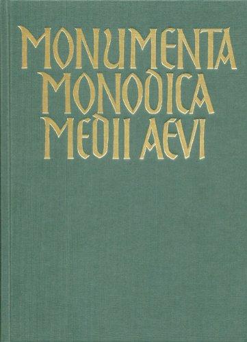 Monumenta Monodica Medii Aevi - Bd 8: Schlager, Karlheinz
