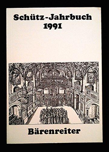 Schütz-jahrbuch 1991.
