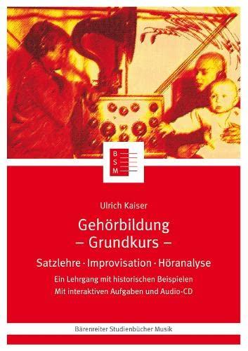 9783761811597: Gehörbildung mit 1 CD-Audio, Grundkurs