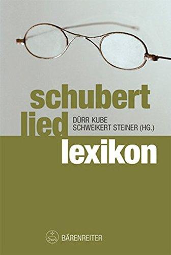 Schubert Liedlexikon - Walther Dürr