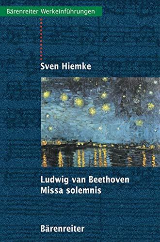 9783761815168: Ludwig van Beethoven. Missa solemnis