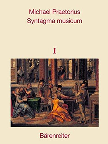 9783761815274: Syntagma Musicum I - III