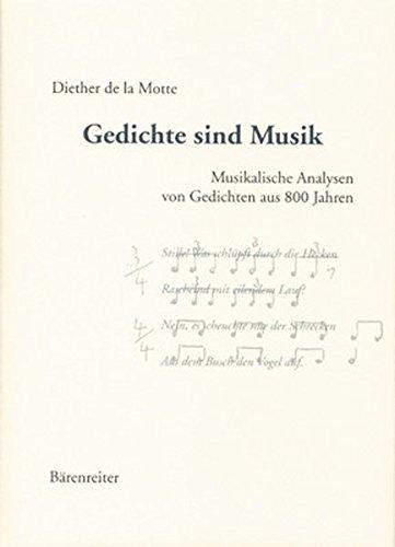 9783761815724: Gedichte Sind Musik