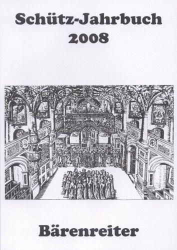 9783761816868: Schütz-jahrbuch 2008.