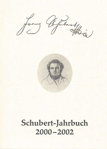 9783761817612: Schubert-Jahrbuch 2000-2002: Bericht über das Schubert-Symposion Düsseldorf 2002: 5