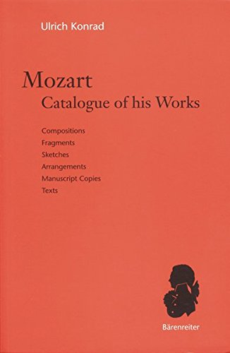 9783761818480: Mozart, Catalogue of His Works