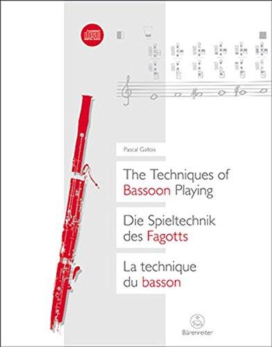 Die Spieltechnik des Fagotts: Pascal Gallois