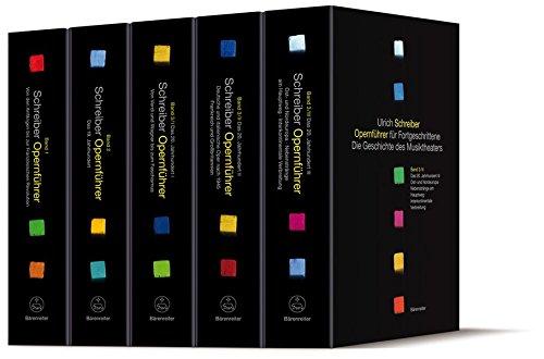 Opernführer für Fortgeschrittene, Band 1-3/III komplett (insg. 5 Bände): Ulrich...