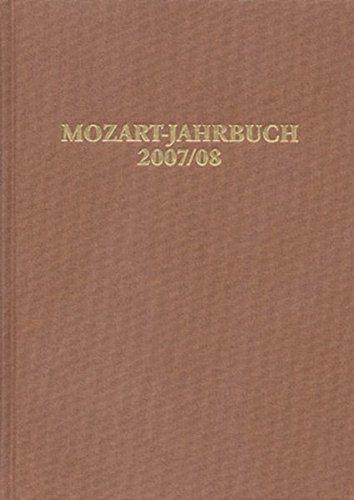 9783761821244: Mozart-Jahrbuch 2007/2008