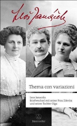 Thema con variazioni: briefwechsel mit seiner frau Zdenka und seiner tochter Olga. (3761821271) by [???]