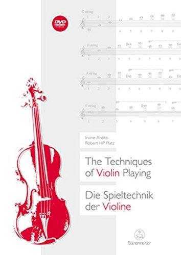 9783761822678: Techniques of Violin Playing (English and German Edition)
