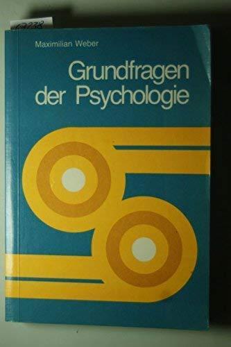 9783762301011: Grundfragen der Psychologie. Eine Einführung für sozialpädagogische Berufe