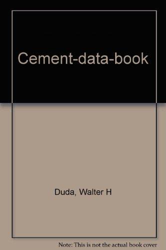 9783762522867: Cement-data-book