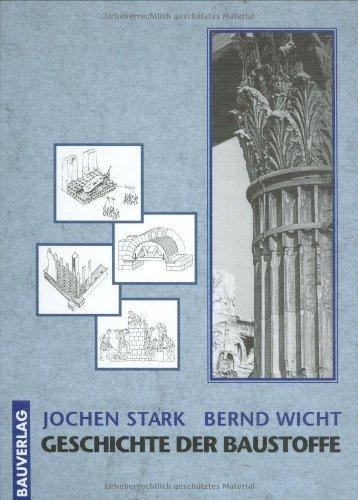 9783762534723: Geschichte der Baustoffe