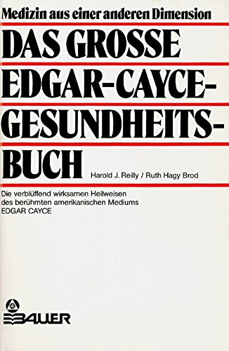 9783762602057: The Edgar Cayce Handbook for Health Through Drugless Therapy