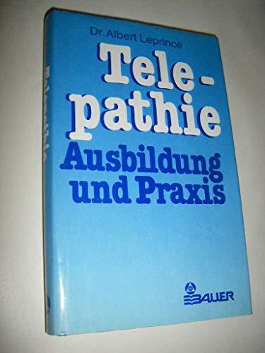 9783762602408: Telepathie Ausbildung und Praxis
