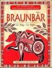 9783762607731: Ihr persönliches Indianer-Horoskop, Braunbär (Livre en allemand)