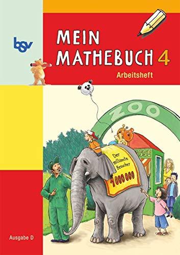 9783762701392: Mein Mathebuch D 4 Arbeitsheft