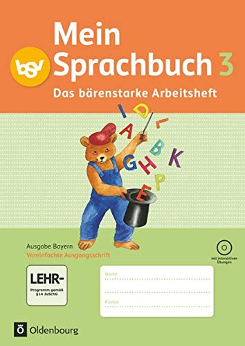 9783762705161: Mein Sprachbuch 3. Jahrgangsstufe. Arbeitsheft. Ausgabe Bayern