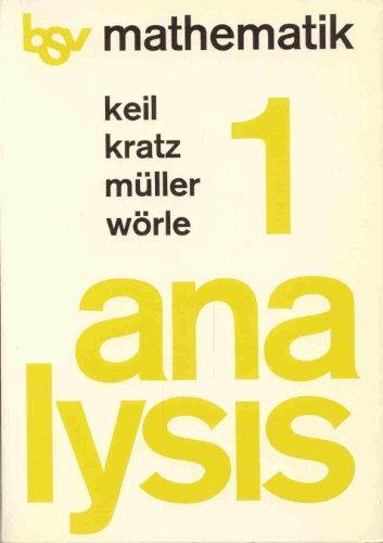 9783762732112: bsv Mathematik. Analysis 1. Schülerbuch