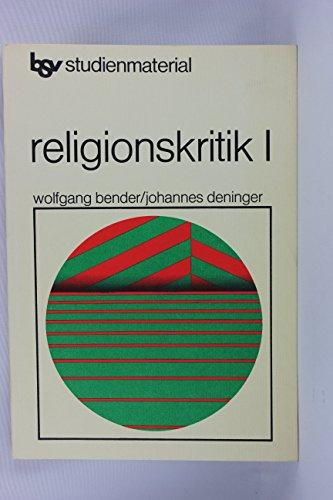 9783762770152: Religionskritik I