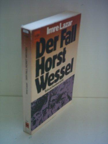 9783763011940: Der Fall Horst Wessel