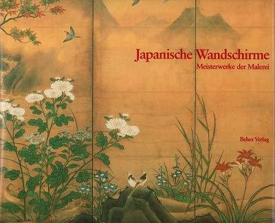 9783763012466: Japanische Wandschirme: Meisterwerke der Malerei