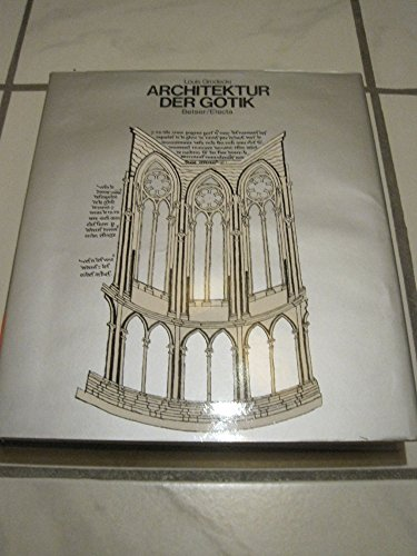 Architektur der Gotik.: Grodecki, Louis.