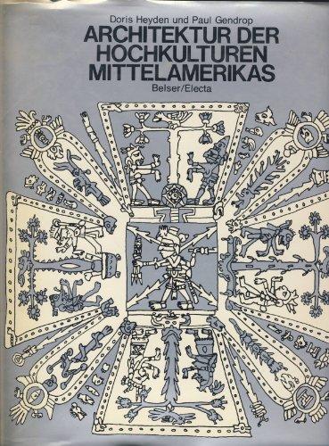 9783763017133: Architektur der Hochkulturen Mittelamerikas